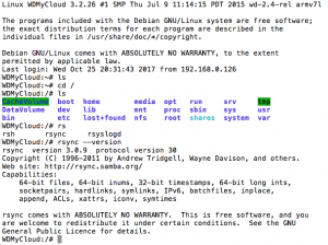 Synology DiskStation - WD My Cloud als rsync-Server nutzen